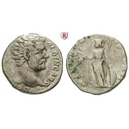 Römische Kaiserzeit, Clodius Albinus, Caesar, Denar 194, ss/f.ss