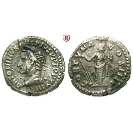 Römische Kaiserzeit, Antoninus Pius, Denar 160, ss