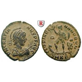 Römische Kaiserzeit, Gratianus, Bronze 378-383, ss