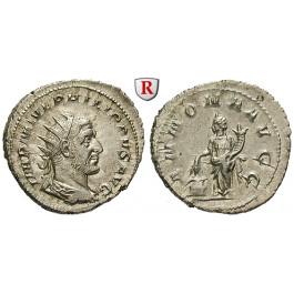 Römische Kaiserzeit, Philippus I., Antoninian 244-247, vz-st