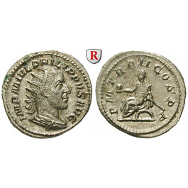 Römische Kaiserzeit, Philippus I., Antoninian 245, st