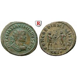 Römische Kaiserzeit, Maximianus Herculius, Antoninian 292, ss+