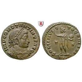 Römische Kaiserzeit, Constantinus I., Follis 314-315, vz