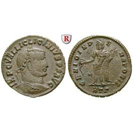 Römische Kaiserzeit, Licinius I., Follis 310, ss