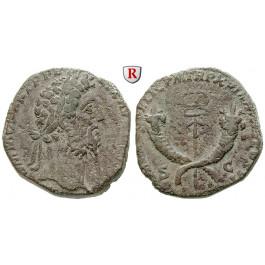 Römische Kaiserzeit, Commodus, Sesterz 190, ss