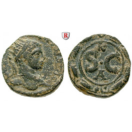 Römische Provinzialprägungen, Seleukis und Pieria, Antiocheia am Orontes, Elagabal, Bronze 218-222, f.ss/ss