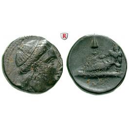 Thrakien-Donaugebiet, Odessos, Bronze 220-100 v.Chr., f.ss