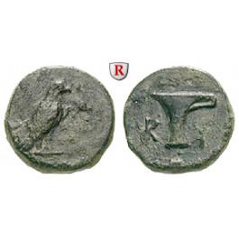 Aiolis, Kyme, Bronze 4. Jh. v.Chr., ss
