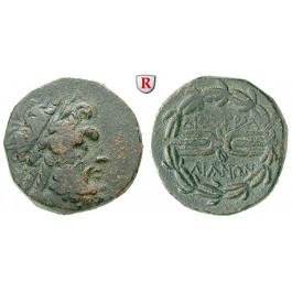 Lydien, Tralleis, Bronze 2.-1. Jh.v.Chr., ss+