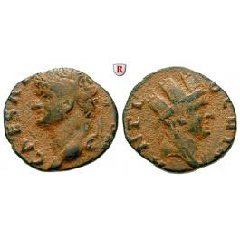 Römische Provinzialprägungen, Seleukis und Pieria, Antiocheia am Orontes, Vespasianus, Bronze 69-79, ss