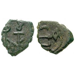 Byzanz, Justin II., Pentanummium (5 Nummi) 565-578, s-ss
