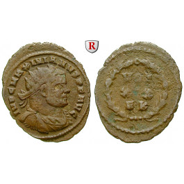Römische Kaiserzeit, Maximianus Herculius, Follis 303, f.ss