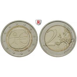 Bundesrepublik Deutschland, 2 Euro 2009, 10 Jahre Währungsunion, nach unserer Wahl, bfr., J. 540