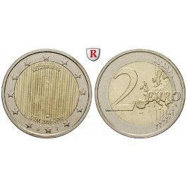 Luxemburg, Henri, 2 Euro 2009, bfr.