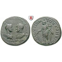 Römische Provinzialprägungen, Thrakien, Tomis, Gordianus III., Bronze 238-244, ss+