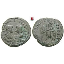 Römische Provinzialprägungen, Thrakien, Tomis, Philippus I., Bronze 244-249, ss+