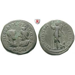 Römische Provinzialprägungen, Thrakien, Tomis, Philippus II., Caesar, Bronze 244-247, ss