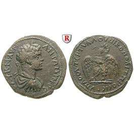 Römische Provinzialprägungen, Thrakien-Donaugebiet, Nikopolis am Istros, Caracalla, Bronze 198-217, ss