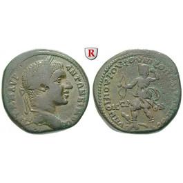 Römische Provinzialprägungen, Thrakien-Donaugebiet, Nikopolis am Istros, Elagabal, Bronze 218-222, ss+