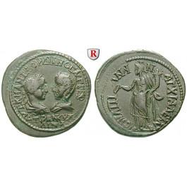 Römische Provinzialprägungen, Thrakien, Anchialos, Gordianus III., Bronze 238-244, f.vz