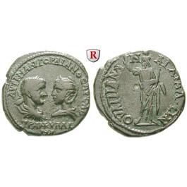 Römische Provinzialprägungen, Thrakien, Anchialos, Gordianus III., Bronze 238-244, ss-vz