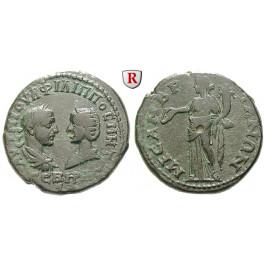 Römische Provinzialprägungen, Thrakien, Mesembria, Philippus I., Bronze 244-249, ss+
