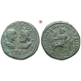 Römische Provinzialprägungen, Thrakien-Donaugebiet, Markianopolis, Gordianus III., Bronze 238-244, ss/vz