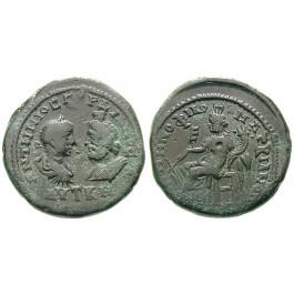 Römische Provinzialprägungen, Thrakien-Donaugebiet, Markianopolis, Gordianus III., Bronze 238-244, ss