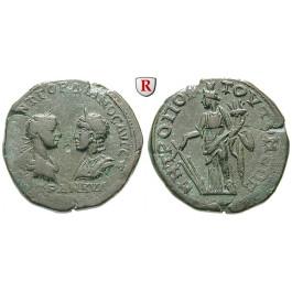 Römische Provinzialprägungen, Thrakien, Tomis, Gordianus III., Bronze 238-244, ss