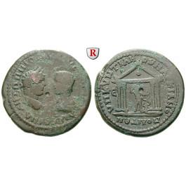 Römische Provinzialprägungen, Thrakien-Donaugebiet, Markianopolis, Caracalla, Bronze 198-217, s/ss