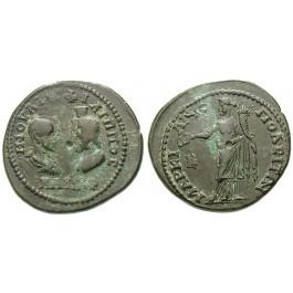 Römische Provinzialprägungen, Thrakien-Donaugebiet, Markianopolis, Philippus II., Bronze 247-249, f.ss/ss+