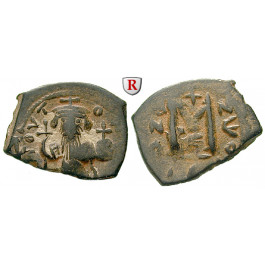 Byzanz, Constans II., Follis 641-668, f.vz
