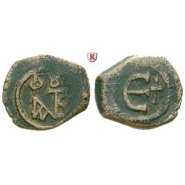 Byzanz, Justin II., Pentanummium (5 Nummi) 565-578, ss