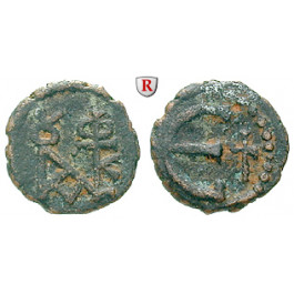 Byzanz, Justin II., Pentanummium (5 Nummi) 565-578, f.ss