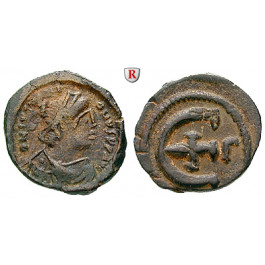 Byzanz, Justinian I., Pentanummium (5 Nummi) 527-565, ss