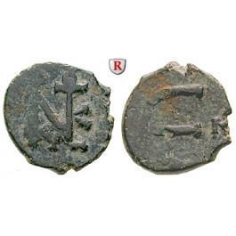Byzanz, Justin II., Pentanummium (5 Nummi) 565-578, s+