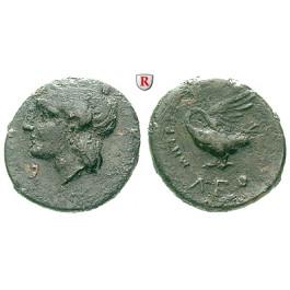 Ionien, Leuke, Bronze 350-300 v.Chr., s-ss