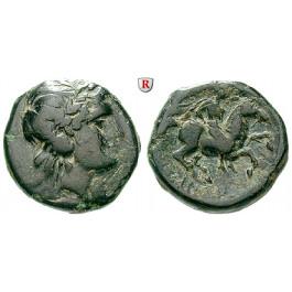 Thrakien, Königreich, Lysimachos, Bronze 320-315 v.Chr., f.ss