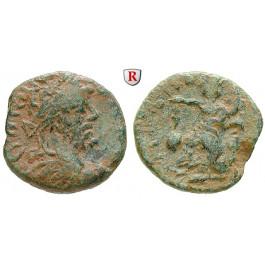 Römische Provinzialprägungen, Koile Syria, Damaskos, Septimius Severus, Bronze 193-211, f.ss
