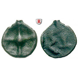 Thrakien-Donaugebiet, Istros, Bronze 420-400 v.Chr., f.ss