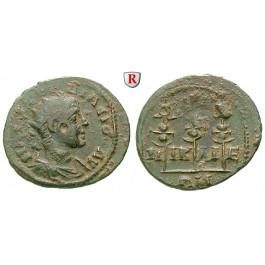 Römische Provinzialprägungen, Bithynien, Nikaia, Gordianus III., Bronze 238-244, ss+