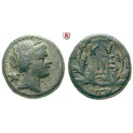 Mysien, Kyzikos, Bronze 2.-1. Jh.v.Chr., s-ss