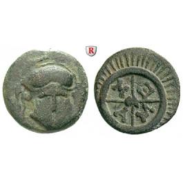 Thrakien, Mesembria, Bronze 450-350 v.Chr., ss+