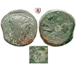 Numidien, Königreich, Micipsa, Bronze 148-118 v.Chr., s