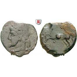 Numidien, Königreich, Micipsa, Bronze 148-118 v.Chr., s/f.ss