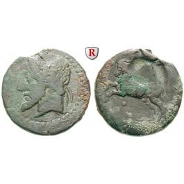 Numidien, Königreich, Micipsa, Bronze 148-118 v.Chr., f.ss