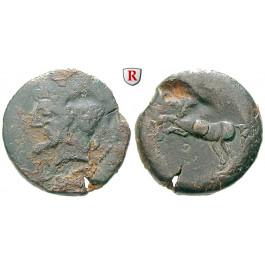 Numidien, Königreich, Micipsa, Bronze 148-118 v.Chr., s/ss