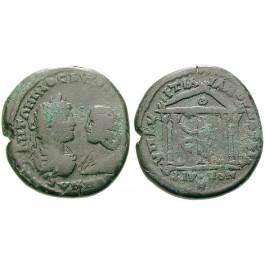 Römische Provinzialprägungen, Thrakien-Donaugebiet, Markianopolis, Caracalla, Bronze 198-217, f.ss