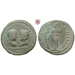 Römische Provinzialprägungen, Thrakien, Anchialos, Gordianus III., Bronze 238-244, ss+