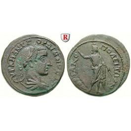 Römische Provinzialprägungen, Thrakien, Hadrianopolis, Gordianus III., Bronze 238-244, ss+